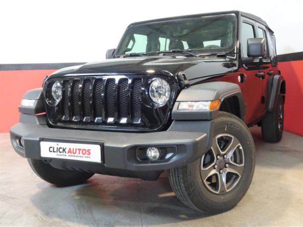 New Wrangler Unlimited MY19 2.2 CRD 200CV Sport 8TX ED6