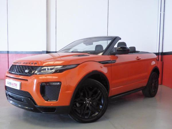 Range Rover Evoque Cabrio 2.0 TD4 150CV HSE Dynamic Auto  pack orange/black